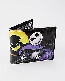 Moonlight Jack Bifold Wallet - The Nightmare Before Christmas