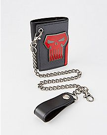 Punisher Chain Wallet - Marvel