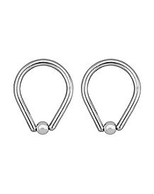 Teardrop Captive Rings - 14 Gauge