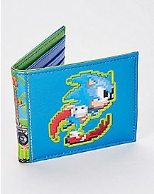 8 Bit Sonic the Hedgehog Bifold Wallet