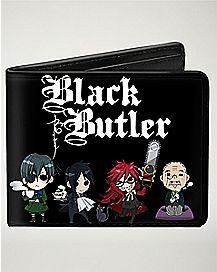 Black Butler Bifold Wallet
