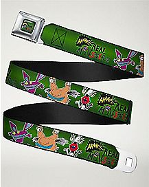 Ahh Real Monsters Seatbelt Belt - Nickelodeon