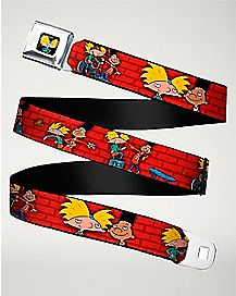 Hey Arnold Seatbelt Belt - Nickelodeon