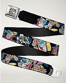 Ren and Stimpy Seatbelt Belt - Nickelodeon