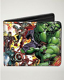 Explosion Avengers Bifold Wallet