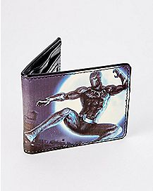 Black Panther Bifold Wallet - The Avengers