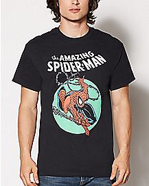 The Amazing Spider-Man T Shirt - Marvel Comics