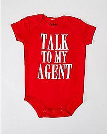 Talk To My Agent Baby Bodysuit
