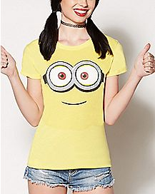 Despicable Me Minion Face T Shirt