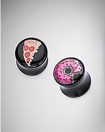 Donut Pizza Reversible Plug