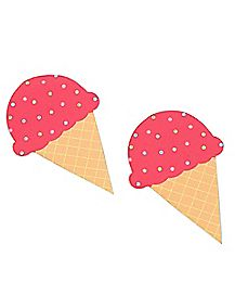 Ice Cream Cone Nipple Pasties