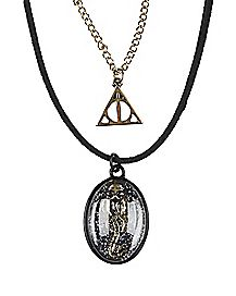 Dark Mark Choker Necklace - Harry Potter