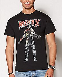 Weapon X X-Men T Shirt