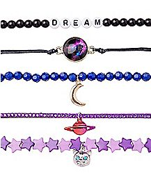 Dream Galaxy Bracelet - 5 Pack