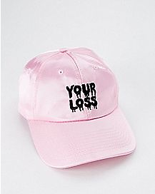 Satin Your Loss Dad Hat