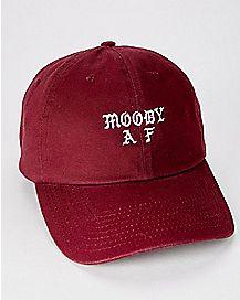 Moody AF Maroon Dad Hat