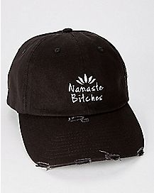 Namaste Bitches Dad Hat