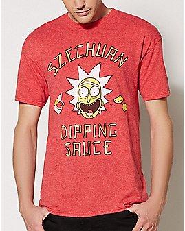 Szechuan Dipping Sauce Episode 1 T Shirt - Rick and Morty