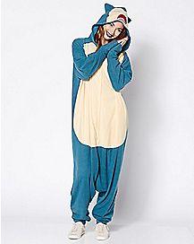 Snorlax Pokemon Pajama Costume
