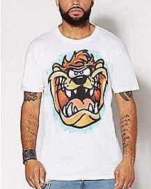 Airbrush Taz T Shirt - Looney Tunes