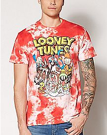 Tie Dye Looney Tunes T Shirt