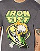 Iron Fist T Shirt - Marvel Comics
