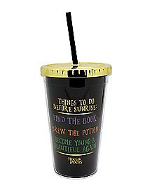 Things to Do Before Sunrise - 16 oz. Cup with Straw