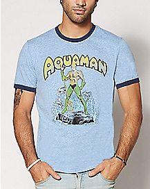 Vintage Aquaman T Shirt