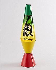 Rasta Bob Marley Lava Lamp - 14.5 Inch