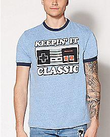 Classic Controller Nintendo T Shirt