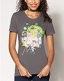Group Rick and Morty T Shirt