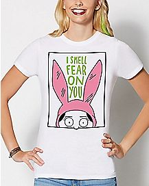 Louise I Can Smell Fear Bob's Burgers T Shirt