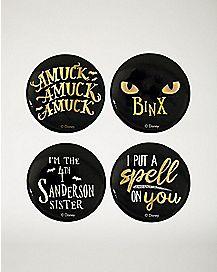 Hocus Pocus Button 4 Pack