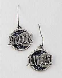 Amuck Earrings - Hocus Pocus