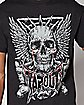 Skull Wings Tapout T Shirt