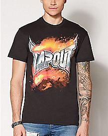 Flames Tapout T Shirt