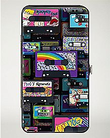 Cassette Tape Nickelodeon Hinged Wallet