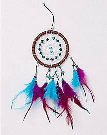Purple and Teal Dream Catcher