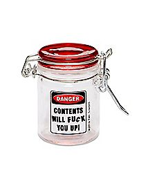 Contents Will Fuck You Up Storage Jar - 1.5 oz.