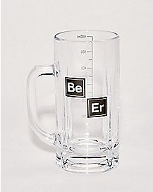 Periodic Table Beer Mug - 20 oz.