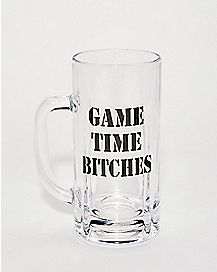 Game Time Bitches Beer Mug - 20 oz.