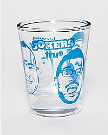 Impractical Jokers Shot Glass- 1.5 oz.