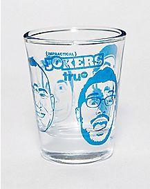 Impractical Jokers Shot Glass- 1.5 oz.
