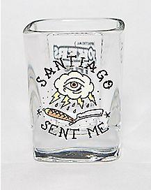 Impractical Jokers Santiago Sent Me Shot Glass- 2 oz.