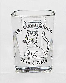 Impractical Jokers 3 Cats Shot Glass- 2 oz.