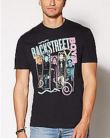 Neon Backstreet Boys T Shirt
