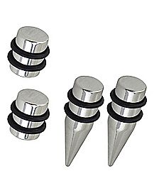 Steel Plug and Taper Set