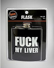 Fuck My Liver Flask - 6 oz.