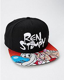 Ren and Stimpy Snapback Hat