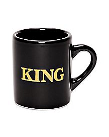 King Coffee Mug Shot Glass - 2 oz.